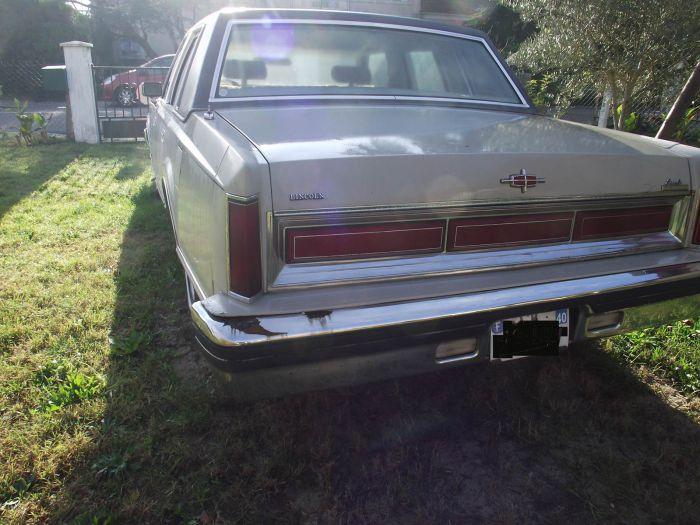 Vendue Lincoln Town Car 1982 Forum American Breizh Car